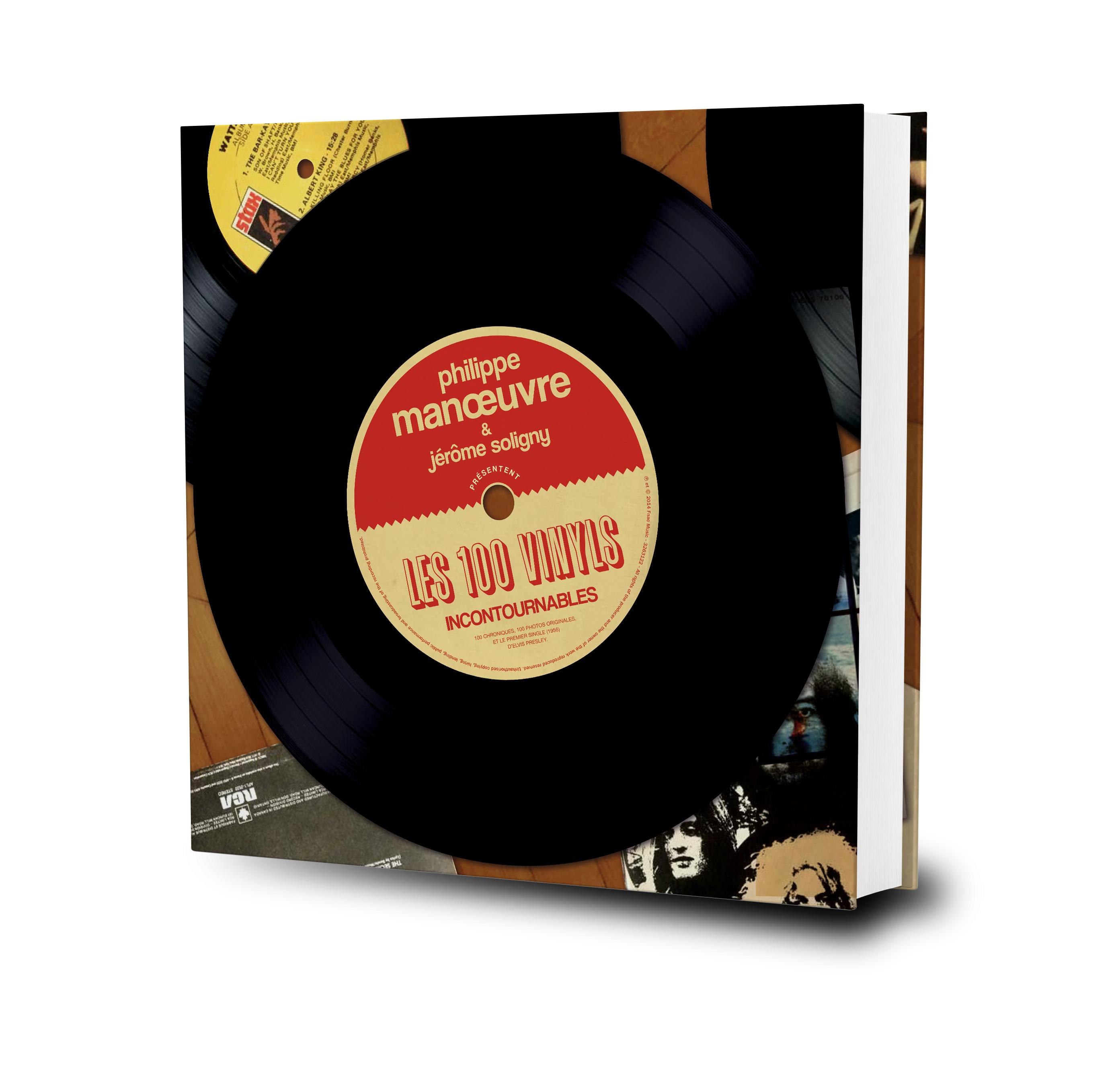 3d100vinyl Les 100 Vinyls incontournables – Philippe Manœuvre & Jérôme Soligny